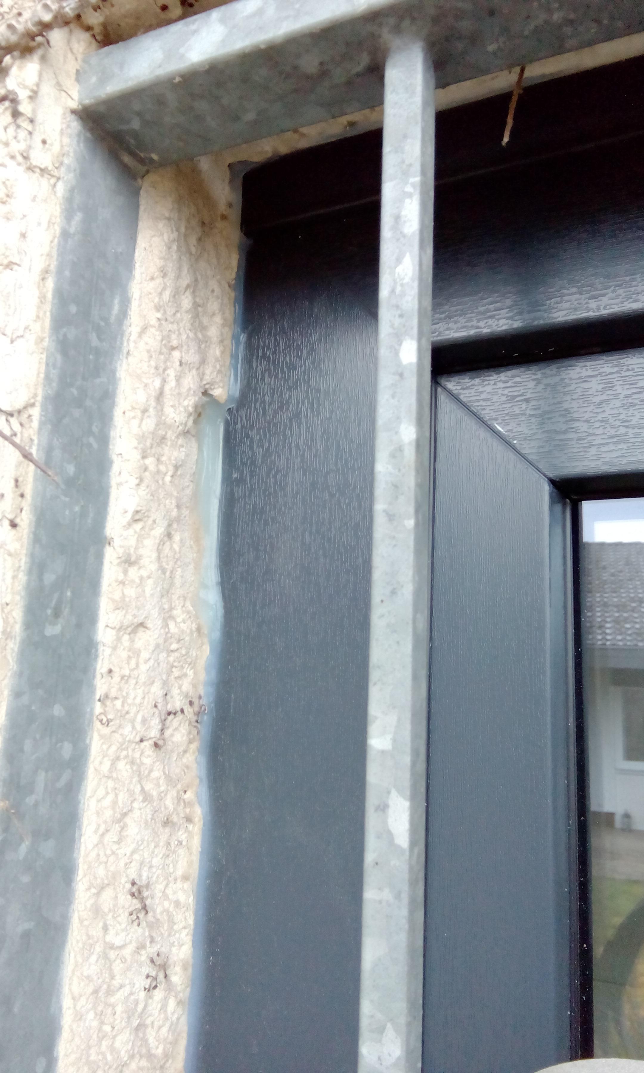 Fenster mit 0,95 U-Wert gut eingebaut!